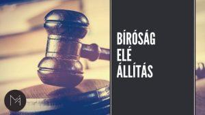 Bíróság elé állítás